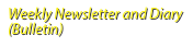 Weekly Newsletter and Diary